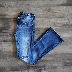 Miss Me Standard Boot Jeans Size 25